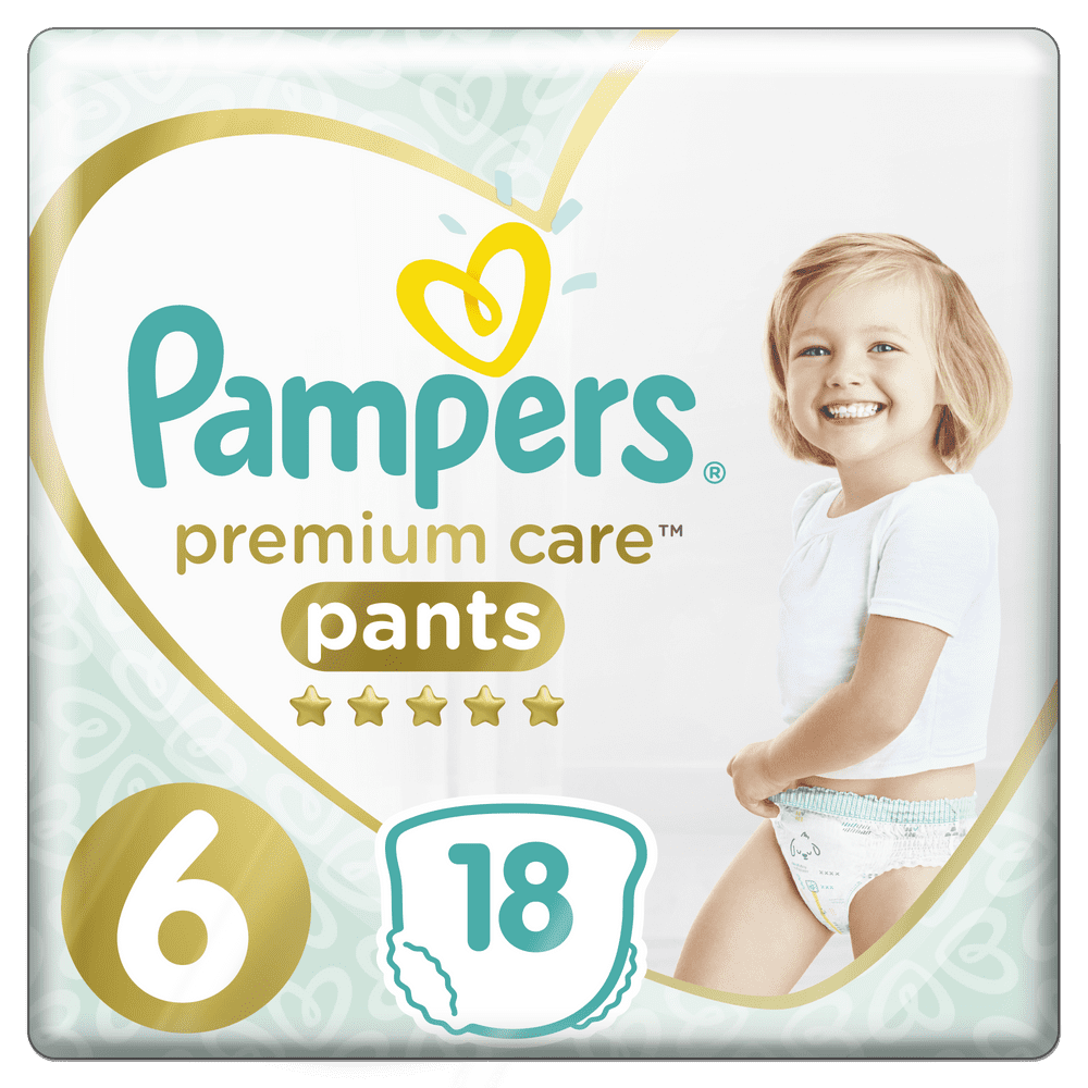 Pampers Premium Pants 6 (15+ kg) 18 ks