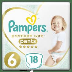 Pampers plenice Premium Pants S6, 18 kosov