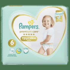 Pampers hlačne plenice Premium Pants 6 Extra Large, 31kosov
