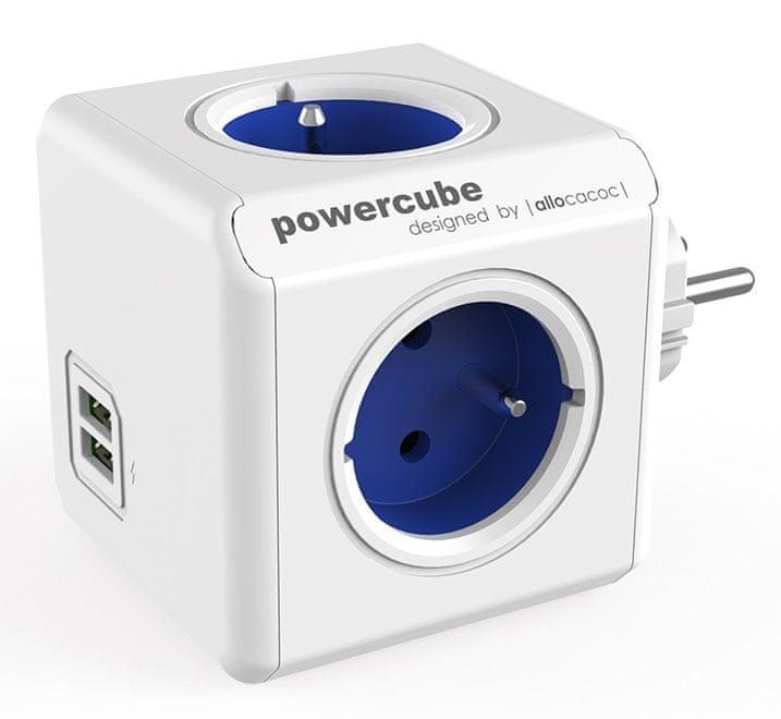 PowerCube PowerCube Original USB Schuko (Blue)