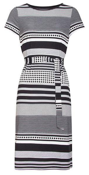 b61010016c56 Smashed Lemon Dámské šaty 19255 Black White (Velikost S)