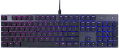 Cooler Master SK650, Cherry MX Low Profile Red, US (SK-650-GKLR1-US)