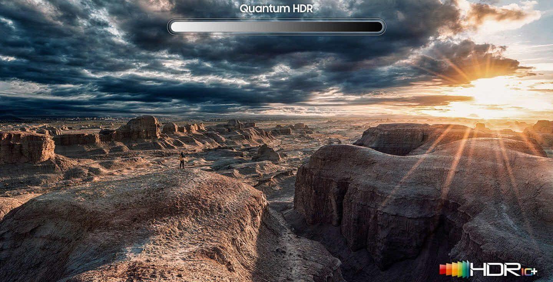 samsung tv televize qled 2019 quantum dot 100% objem barev q70r fantastickA© barvy dokonalost obrazu hdr 8x quantum