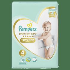 Pampers plenice Premium Pants S4 - 76, kosov (2x38)