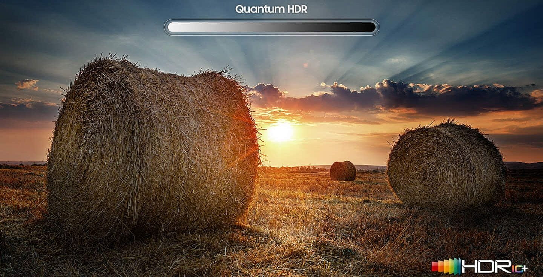 samsung tv televize qled 2019 quantum dot 100% objem barev q60r fantastickA© barvy dokonalost obrazu hdr 4x quantum