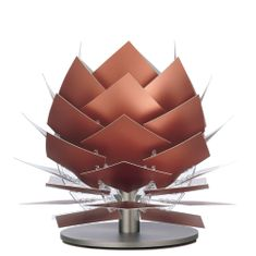 DybergLarsen Stolní lampa PineApple XS, 22 cm, měď