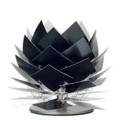 DybergLarsen Stolní lampa PineApple XS, 22 cm, černá