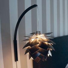 DybergLarsen Nástěnná lampa PineApple XS, 22 cm, černá