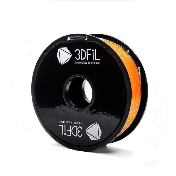 3DFiL PLA oranžová transparentní - 1,75mm - 1kg