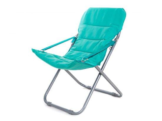 Happy Green fotel składany Varadero, niebieski