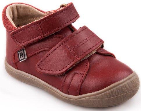 9dd2becb0e RAK dívčí kožené boty Kathleen 28 červená
