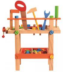 Bino Stolik z narzędziami dla dzieci