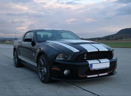Allegria ford Mustang Shelby - sprint na letišti Loukov (okr. Mladá Boleslav)