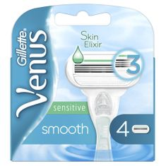 Gillette Venus Smooth Sensitive holicí hlavice 4 ks