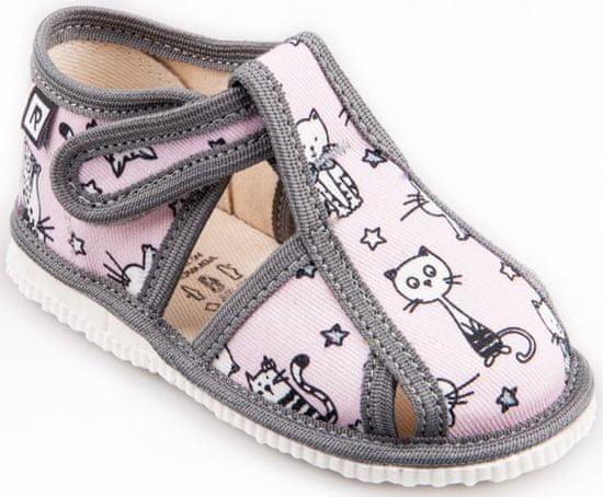 RAK djevojačke papuče 100015-3E RM