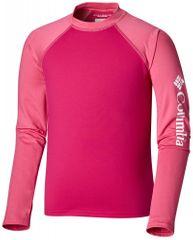 COLUMBIA detské plavecké tričko Sandy Shores LS Sunguar, 110, červená