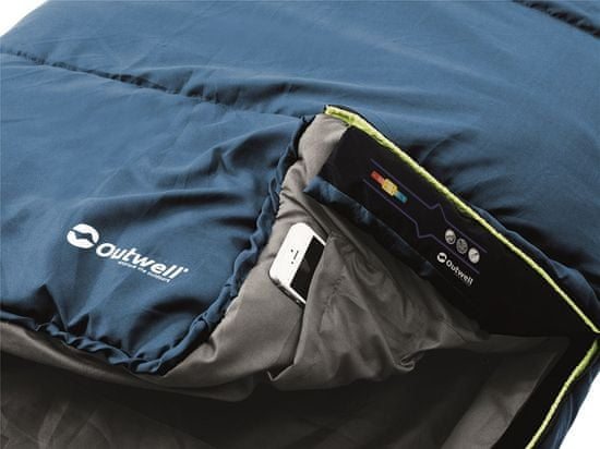 Outwell spalna vreča Campion Lux Blue