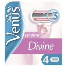 Gillette Venus Sensitive holicí hlavice 4 ks