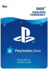 Sony PlayStation Store - Naplnění peněženky 1000 Kč
