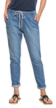 Roxy Dámské kalhoty Beachy Denim Pant ERJDP03206-BGY0 Medium Blue (Velikost XS)
