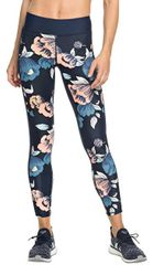Roxy Dámské legíny Spy Game Pant 3 Dress Blues Full Flowers Fit ERJNP03213-XBBM