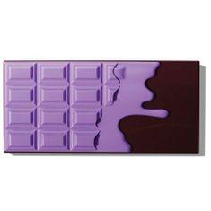 Makeup Revolution Paletka 18 očních stínů (Violet Chocolate Palette) 22 g