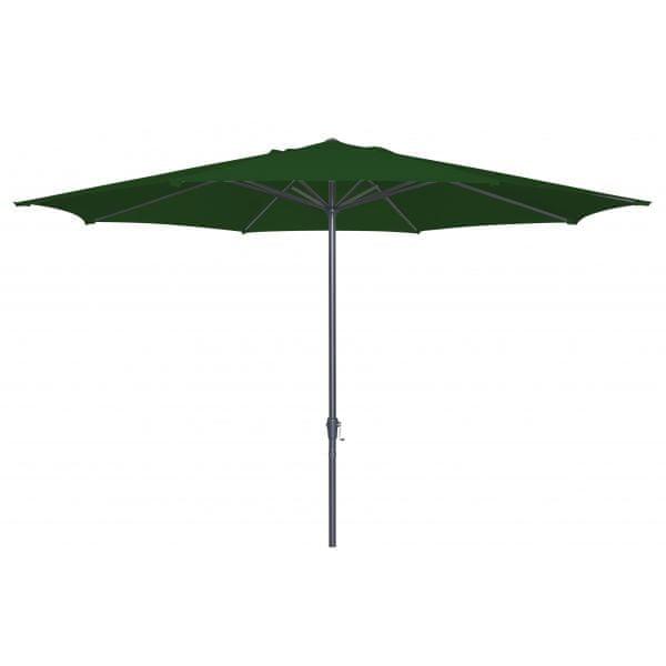 Doppler Slunečník Basic lift 300 cm tm. zelený
