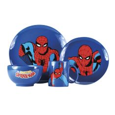 Jídelní souprava Spider-Man (4 ks)