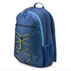 HP 15.6 Active Backpack (Navy Blue/Yellow) 1LU24AA