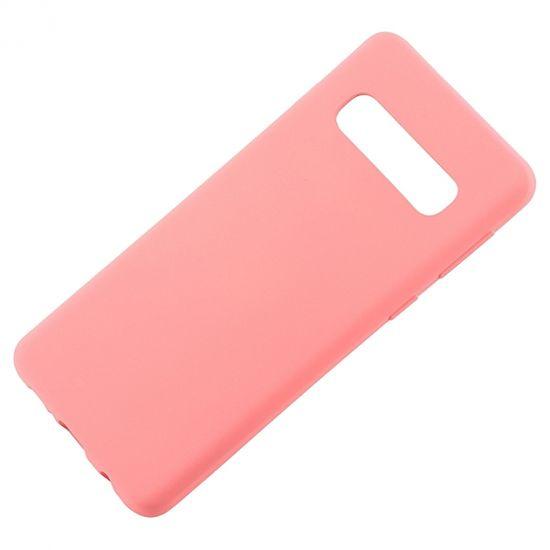 Goospery silikonski ovitek soft feeling za Samsung Galaxy S10 G973 - roza