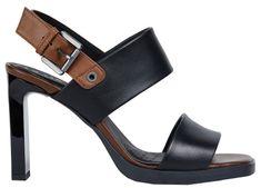 59c521baeb0f Geox Dámske sandále Jenieve Black Brown D92CDA-00043-C0111