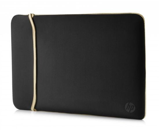 "HP 15.6"" Reversible Sleeve – Black/Gold 2UF60AA"