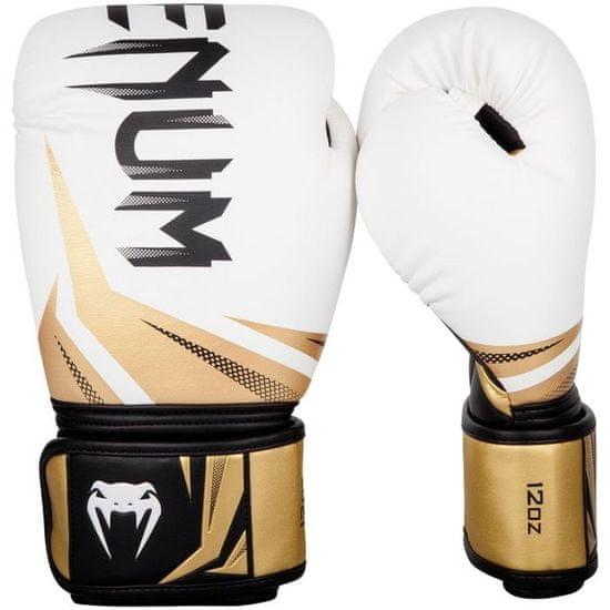 """VENUM Boxerské rukavice """"Challenger 3.0"""", bílá / zlatá 14oz"""