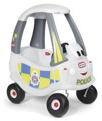 Little Tikes Cozy Coupe - sivé policajné auto