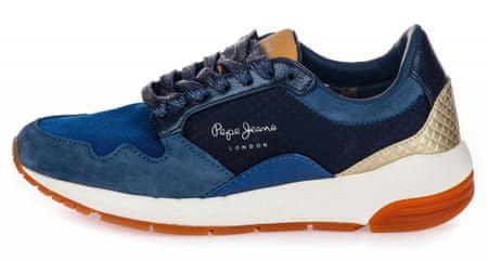 Pepe Jeans dámské tenisky Foster Maya 37 modrá