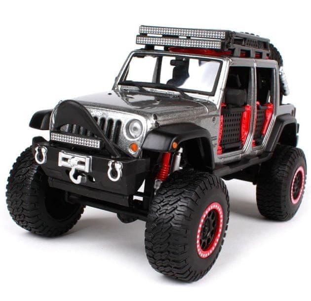 Maisto Jeep Wrangler Unlimited - šedá