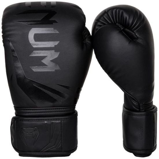 """VENUM Boxerské rukavice """"Challenger 3.0"""", černá / černá 14oz"""