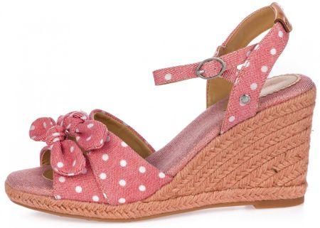Pepe Jeans dámské sandály Shark Pina 36 růžová
