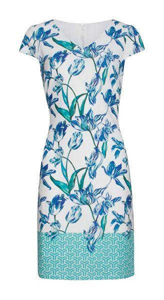 b28d3fa1acfd Smashed Lemon Dámské šaty White Aqua 19193 (Velikost L)