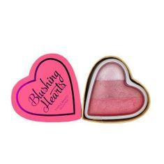 Makeup Revolution Srdcová tvářenka, Zamilované srdce (Blushing Hearts - Bursting with love) 10 g