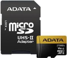 Adata microSDXC Premier One 128GB UHS-II U3 + SD adaptér (AUSDX128GUII3CL10-CA1)
