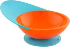 Boon otroška skodelica, modro oranžna