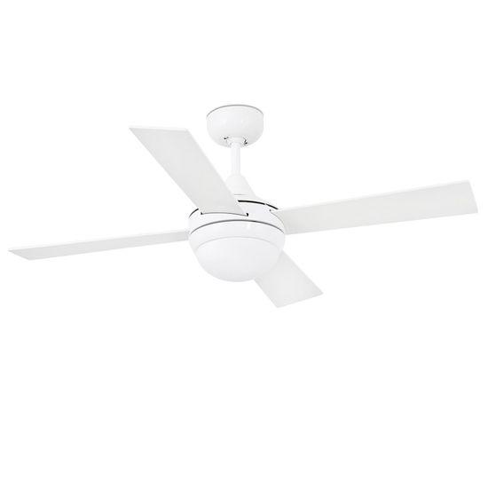 """FARO Barcelona MINI ICARIA 33698 42"""" bílá/bílá/javor Reverzní stropní ventilátor"""