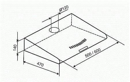 Mora OP 632 X digestoř