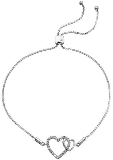 Hot Diamonds Srebro bransoletka z odpowiednim diamentem Flora DL589