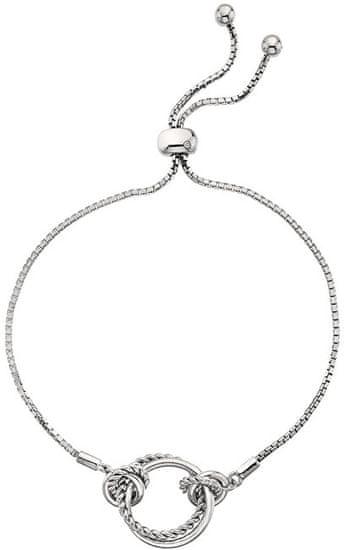 Hot Diamonds Srebro bransoletka z odpowiednim diamentem Jasmine DL594