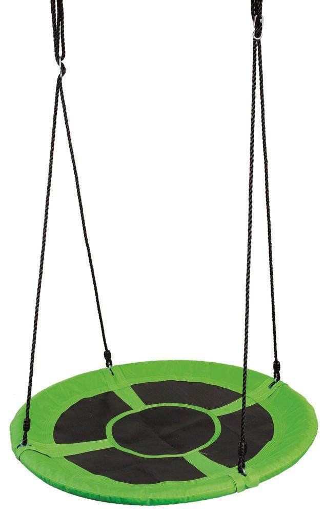 Bino Dětská houpací kruhová rohož - zelená