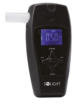 Solight alkohol tester profi, 0,0 - 3,0‰ BAC, citlivost 0,1‰
