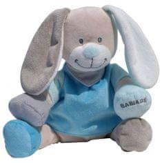 Babiage plišasti pripomoček za spanje DooDoo, zajček, moder
