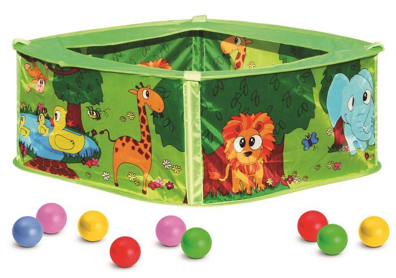 Bino Bazének s balónky, zelený